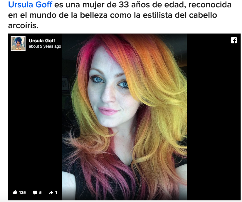 A Powerful Message (Article written for BuzzFeed En Español)
