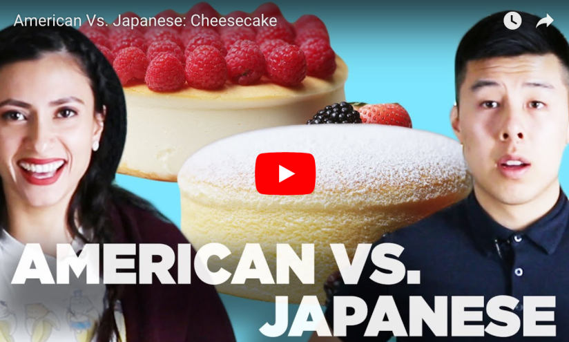 American Vs. Japanese: Cheesecake